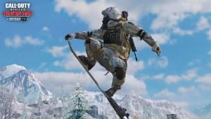 Snowboard en el Battle Royale de Call of Duty Mobile