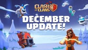 Actualización de diciembre en Clash of Clans