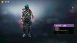 Personaje Curtido Axon en Call of Duty Mobile