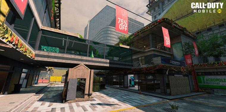 Mapa Reclaim de la Temporada New Order de Call of Duty Mobile