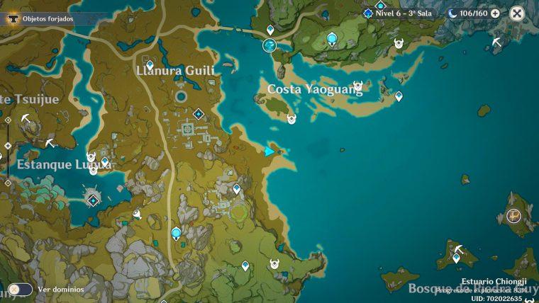 genshin impact evento caza de tesoros segundo tesoro especial