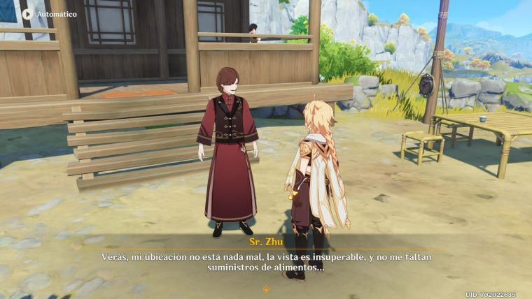 Genshin Impact rito de la linterna II un gran negocio durante el rito de la linterna 1