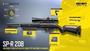 SP-R 208 en Call of Duty Mobile