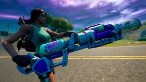Arma exótica en Fortnite