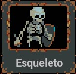 Esqueleto en Loop Hero