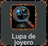 Lupa de joyero en Loop Hero