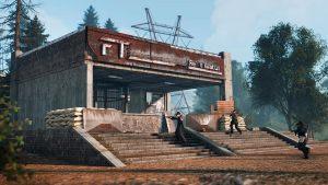 Estación de tren en Rust