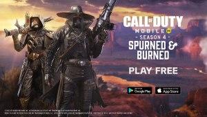Temporada 4 Spurned & Burned en Call of Duty Mobile