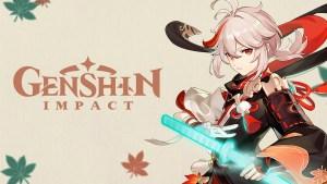 Kaedehara Kazuha en Genshin Impact