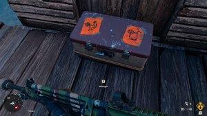 Cofre con criptogramas de Acantilados aguda en Far Cry 6