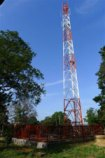 In just a few more weeks we hope to have our mobile telephone tower right on the hospital compound