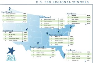 2015 Pilots Choice Winners by Region