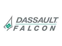 Falcon corporate jet logo