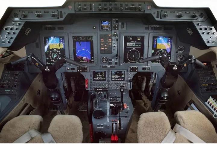 2006 Hawker 850XP panel