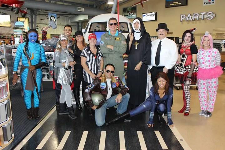 Halloween at Banyan Pilot Shop