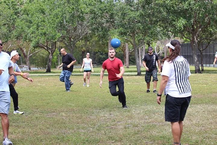 Banyan picnic kick ball