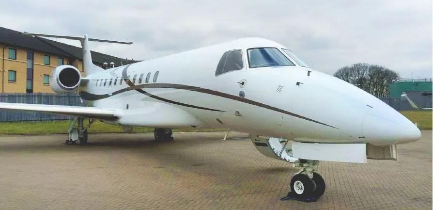 Embraer Legacy 650 Exterior Nose