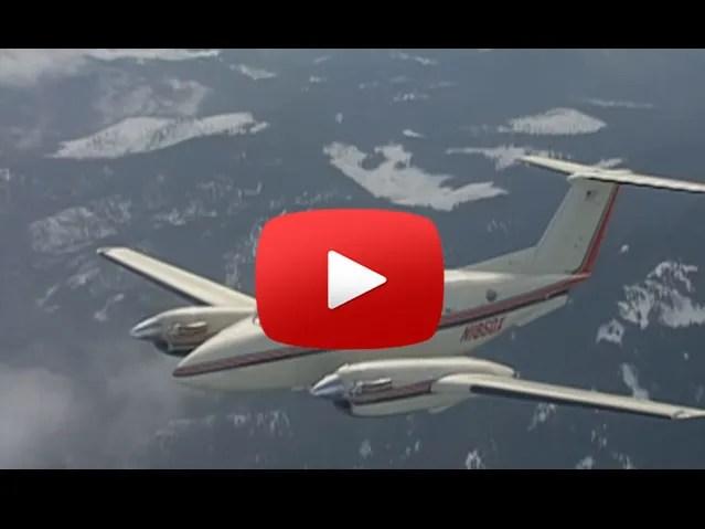 Raisbeck quiet turbofan props video