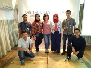 banyumedia bersama tim Google Indonesia