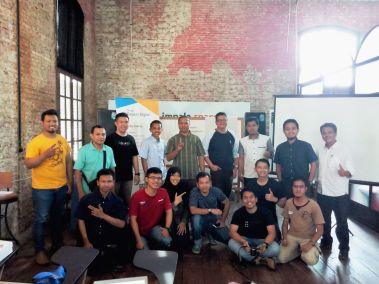 hari kedua training for trainer gapura digital semarang