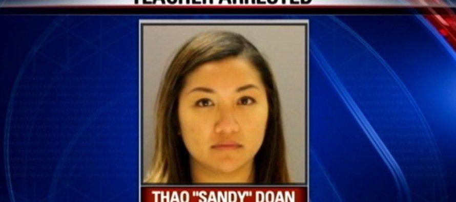 """Nữ giáo viên gốc Việt """"mây mưa"""" với học sinh, trả $28.000 mua sự im lặng"""