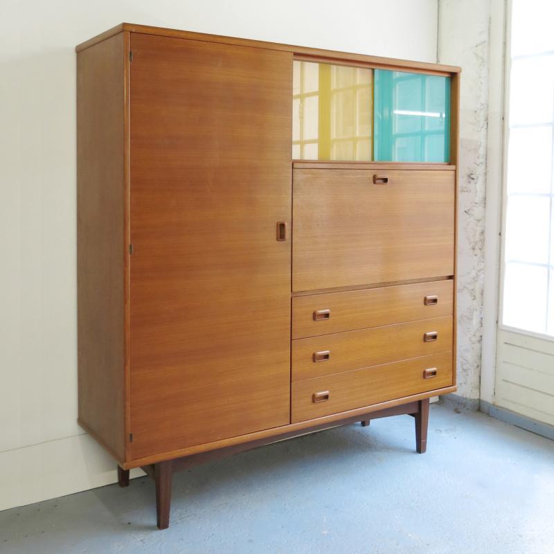 armoire penderie secretaire scandinave