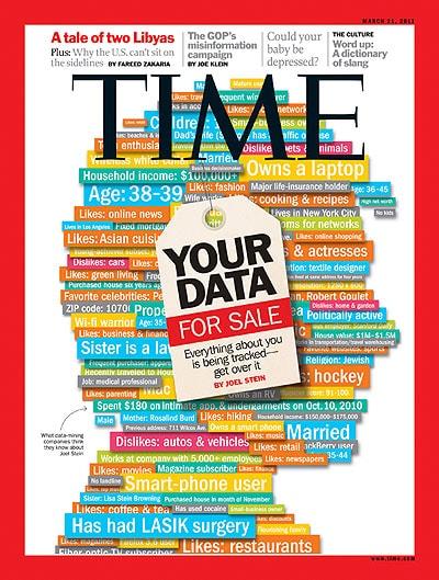 portada Time datos en venta