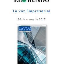 Photo of Entrevista La Voz Empresarial Periódico El Mundo
