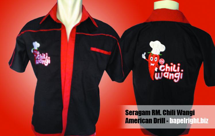seragam rumah makan