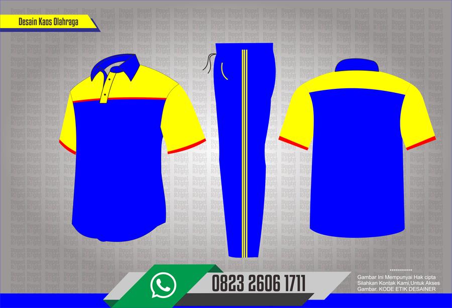 Desain baju Olahraga sekolah