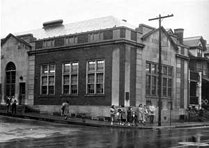 South Side Branch in 1950, 4th & Webster Streets