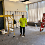 Construction on the Cohen Room