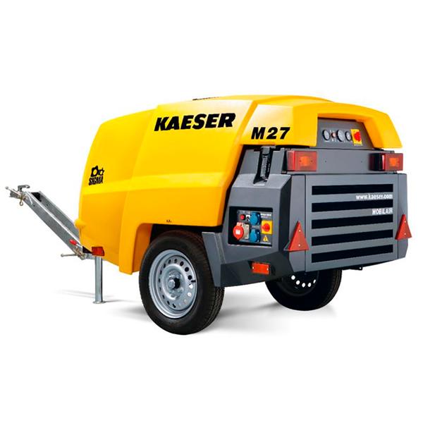 Compresor De Aire (Tornillo) con PERFIL SIGMA, Marca Kaeser Modelo M27 BAP Maquinaria