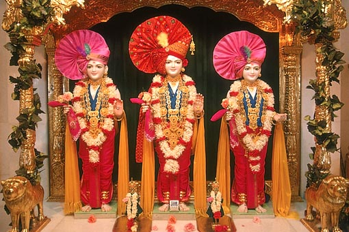 Ghanshyam Maharaj Wallpaper Hd Baps Shri Swaminarayan Mandir Surat Mandir Information