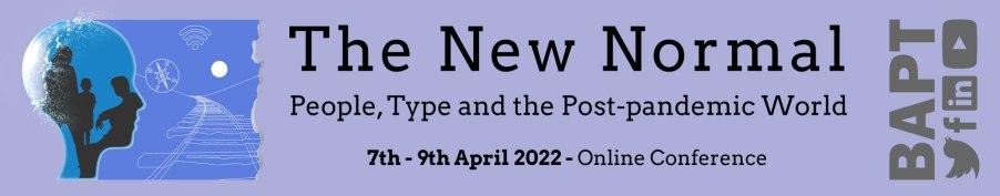 BAPT 2022 conference - banner