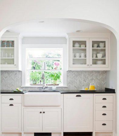 Z Collection BC Herringbone Kitchen