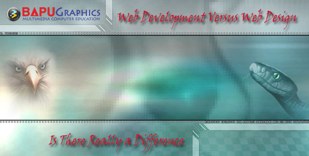 Web Development Versus Web Design - Is There Really a Differenc