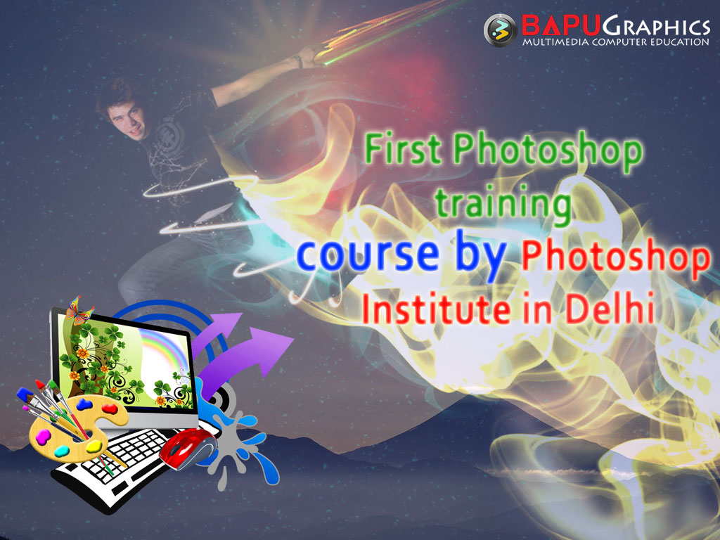 First-Photoshop-training-course-by-Photoshop-Institute-in-Delhi