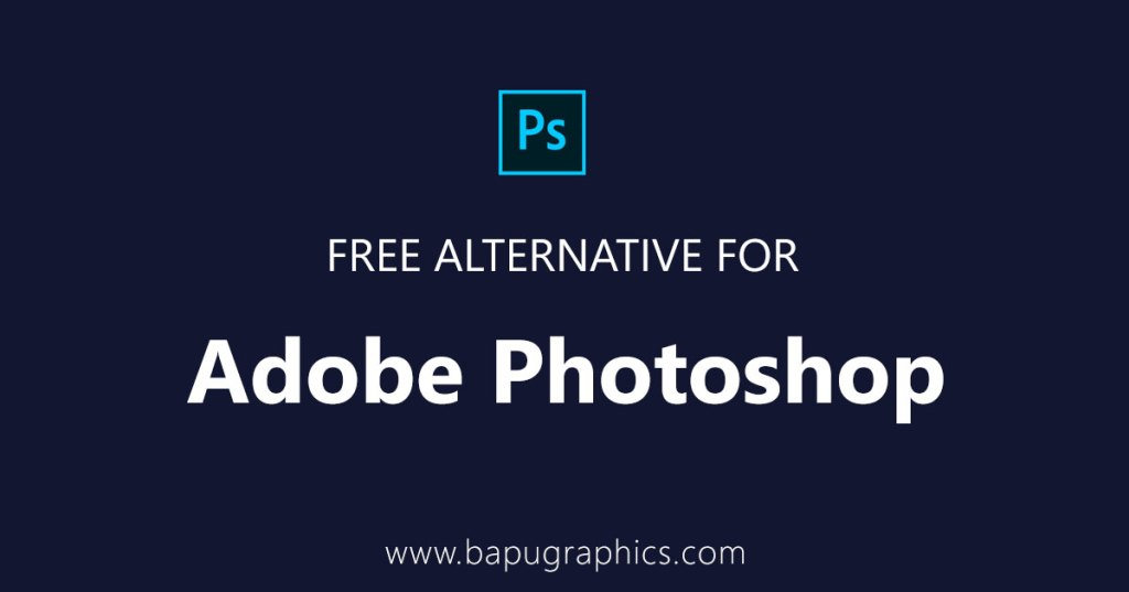 Free Alternative for Adobe Photoshop