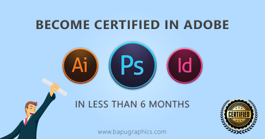 Become Certified In Adobe Photoshop, Illustrator, and InDesign