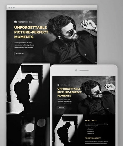 Download Best Free Photography Templates