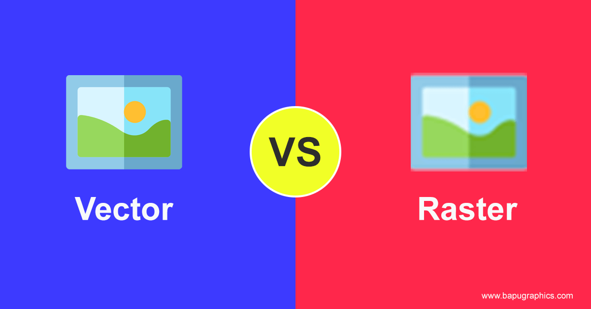Raster vs Vector Format