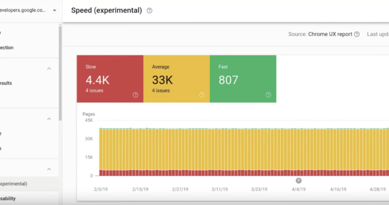 google new search console feature