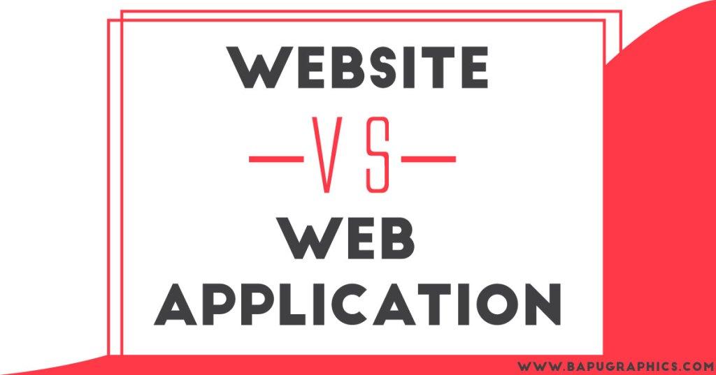 website and web application