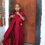 Jeune moine au Bhoutan - blog Bar a Voyages