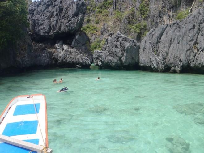 lagon à Palawan