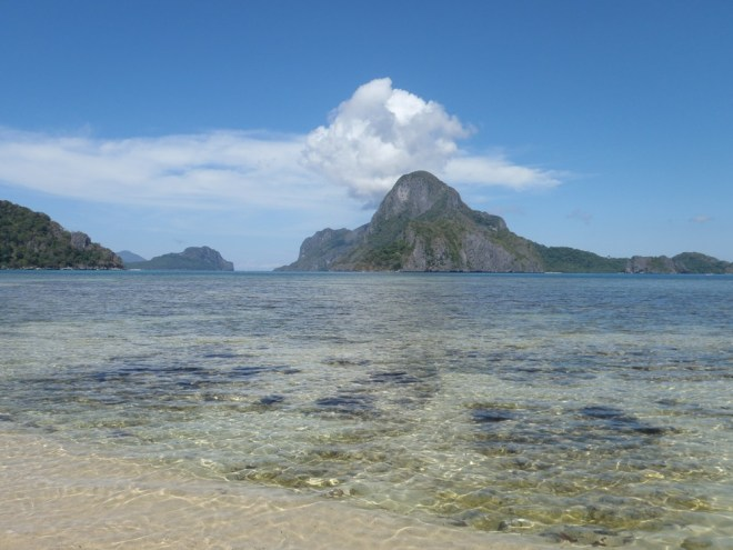 Plage paradisiaque d'El Nido à Palawan