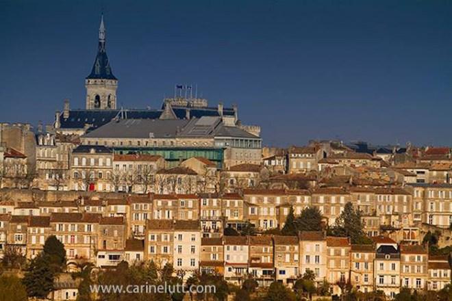 Vue panoramique d'Angoulême