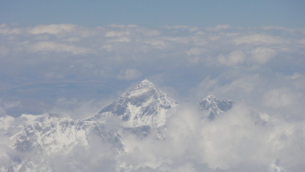 L'Everest vu de l'avion