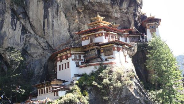 Tiger Nest, célèbre monastère au Bhoutan